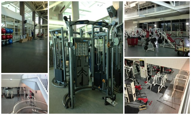 The upper and lower weight rooms in Eppley Recreation Center were overhauled over the summer, introducing new equipment.