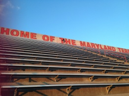 #makingmymove to the top of Byrd stadium! (submitted by AB Lee)